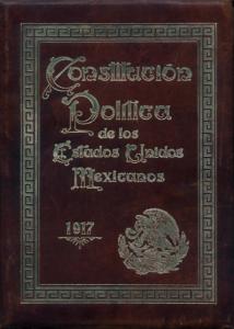 Constitución México 1917